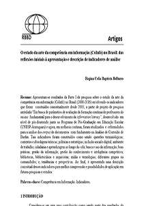 Artigo RBBD CoInfo Indicadores