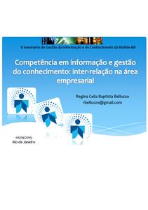 Seminário de Gestão da Informação e do Conhecimento da Rialide-BR