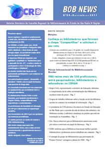 Fórum Internacional de Biblioteca Escolar Informe no BOB News Novembro 2011