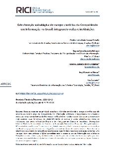 Estruturação estratégica do campo científico da Competência em Informação no Brasil: integrando redes e instituições