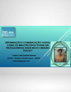 Webinar USP Informação e Comunicação Digital Profa. Regina Belluzzo 2020