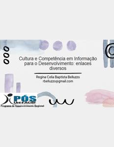 Palestra Cultura e CoInfo Regina Belluzzo UNIFACEF set 2021